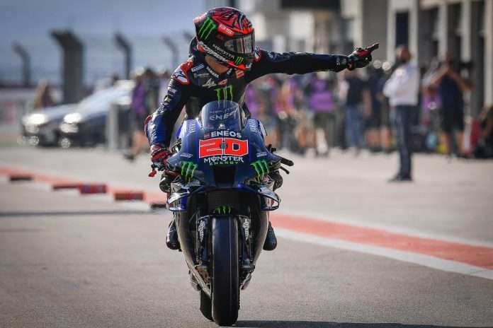 MotoGP GP Aragon 2021 Yamaha Quartararo 1