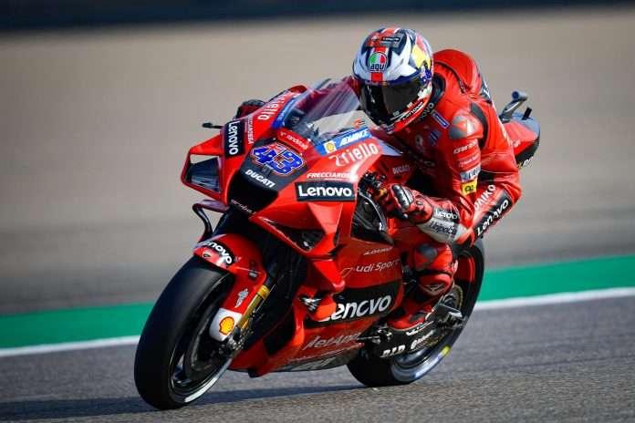 MotoGP | GP Aragón: Jack Miller comanda le libere, Aleix Espargaró e Crutchlow in scia