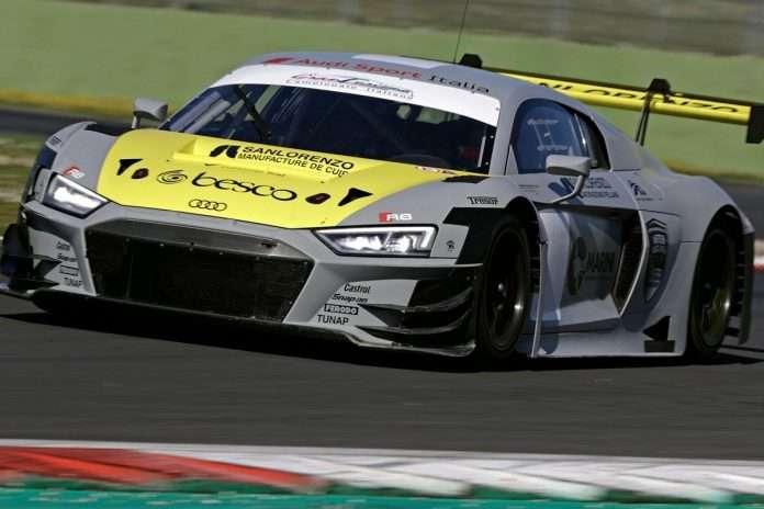 L'Audi vincitrice del round di Vallelunga