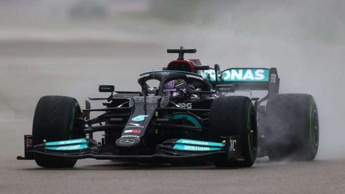 Lewis Hamilton, vincitore del GP di Russia, arriva a quota 100 in F.1. Foto: Eurosport