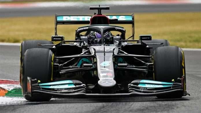 Lewis Hamilton primo nelle FP2 del GP d'Italia