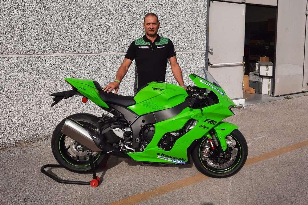 Kawasaki Italia nel CIV SBK 2022 con Prodina Ircos Racing Team
