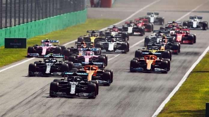 La partenza della scorsa edizione del GP d'Italia