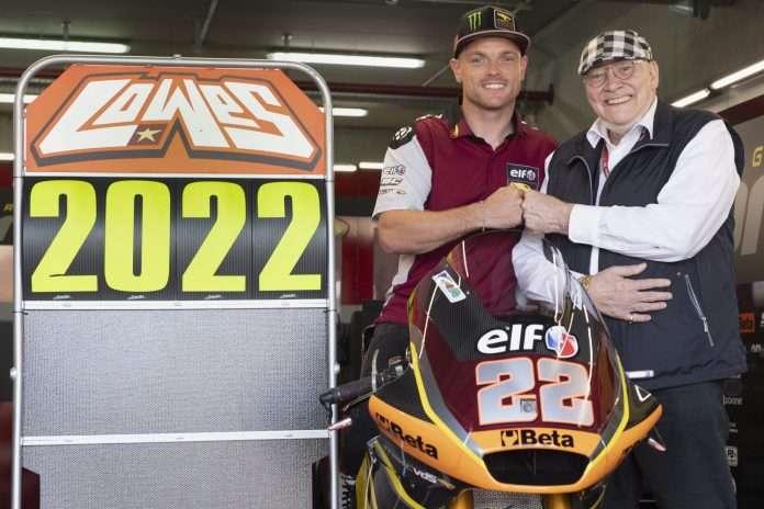 Moto2 | Sam Lowes rinnova con MarcVDS per il 2022