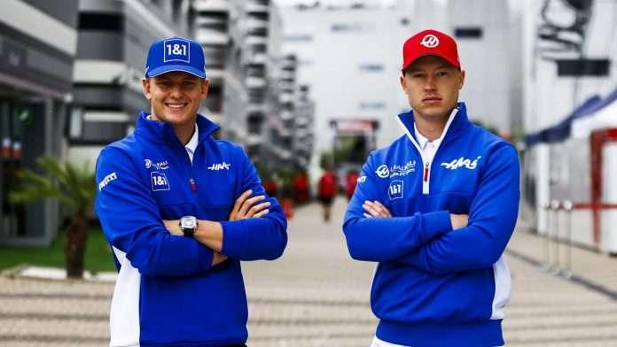 Haas Schumacher Mazepin