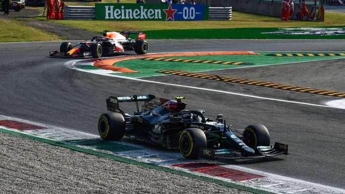 Bottas Monza Sprint Qualifying