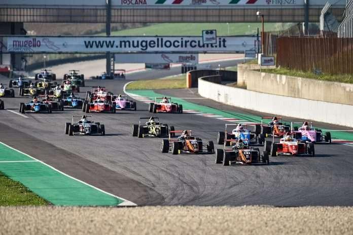 Mugello gara-2 Italian F4. Credits: ACI Sport